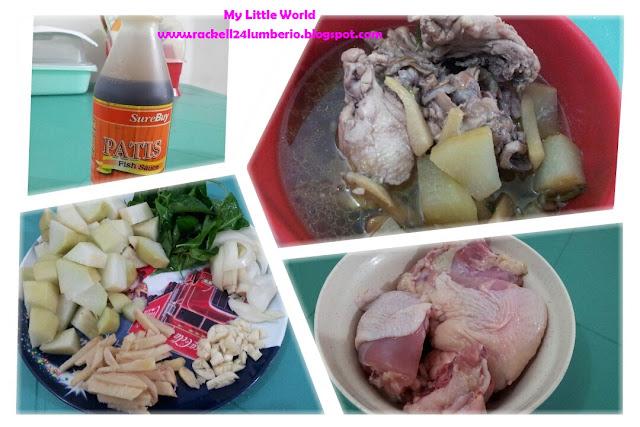 how to cook tinolang manok with liver