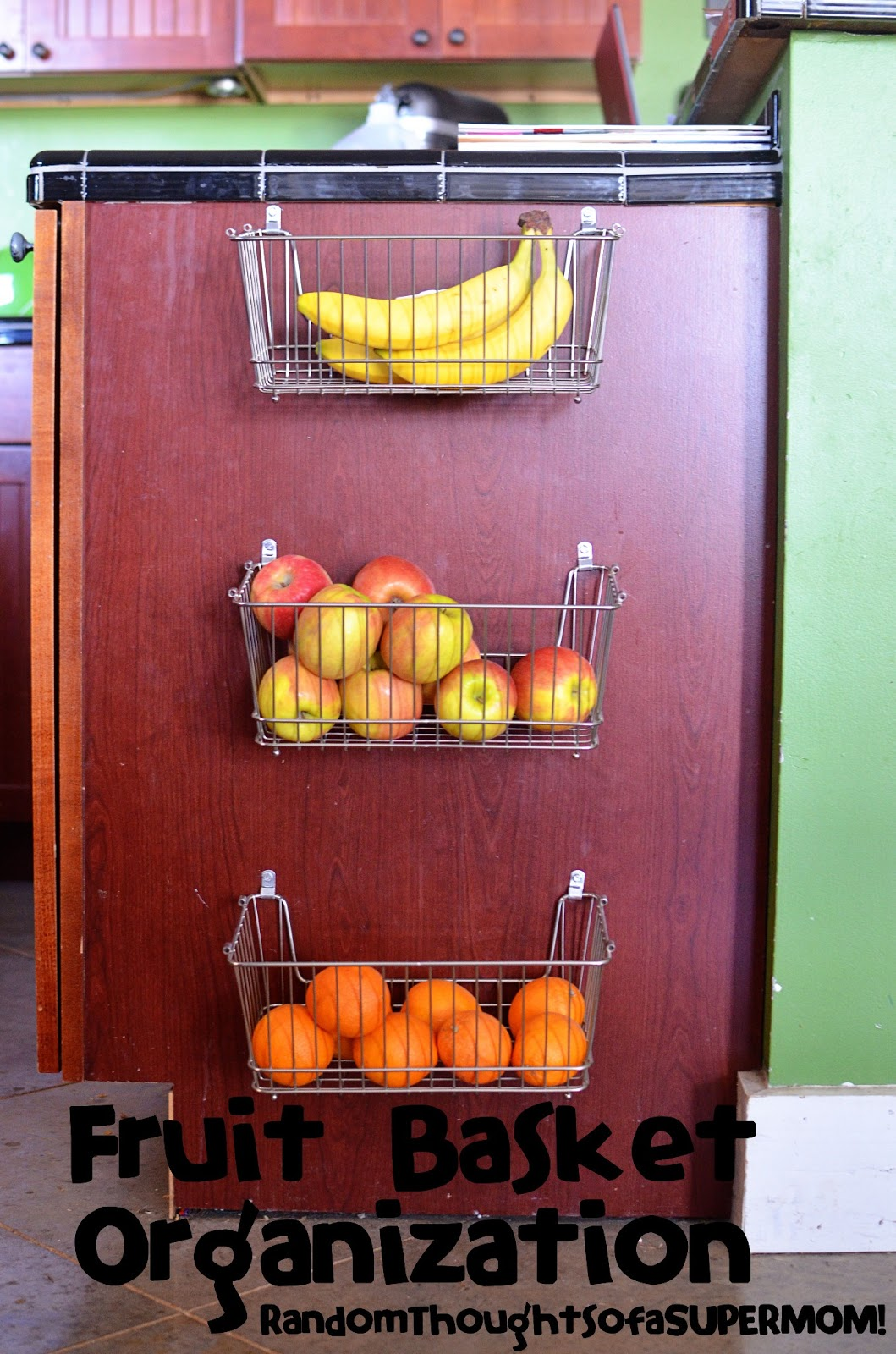 Genial Fruit Basket Organization