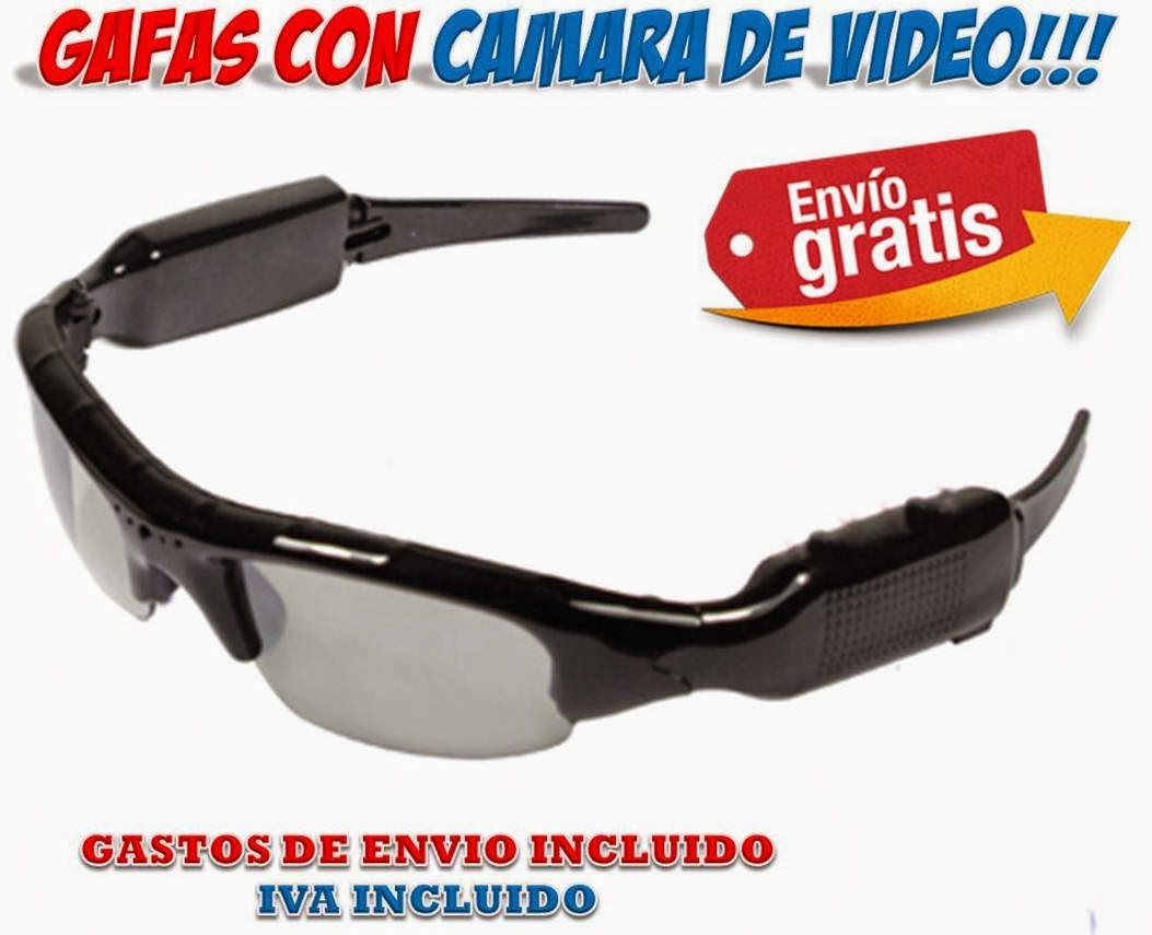 gafas espia camara video
