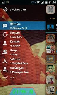BBM Mod Transparan DroidChat 2.8.0.21