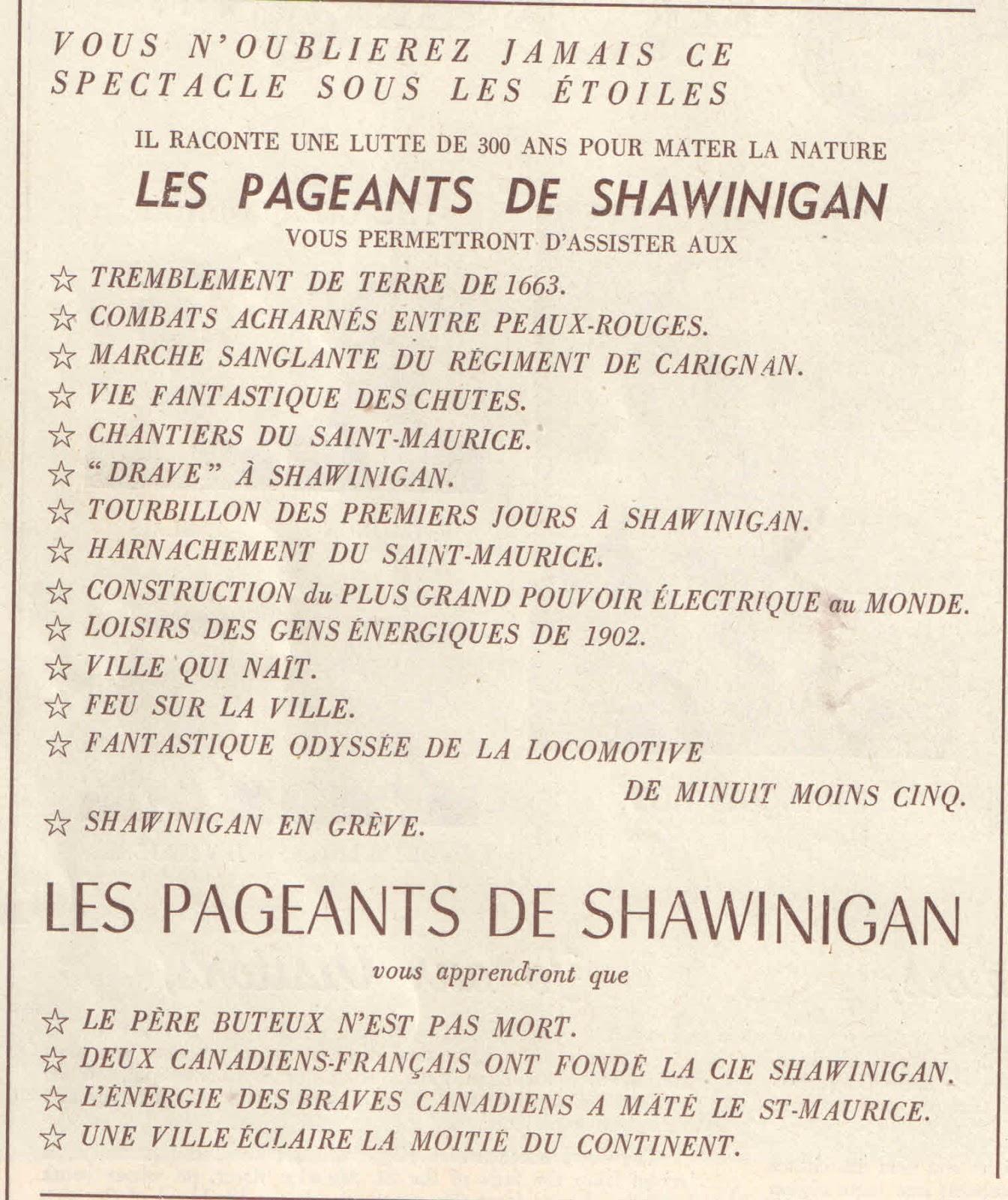 Rencontre shawinigan