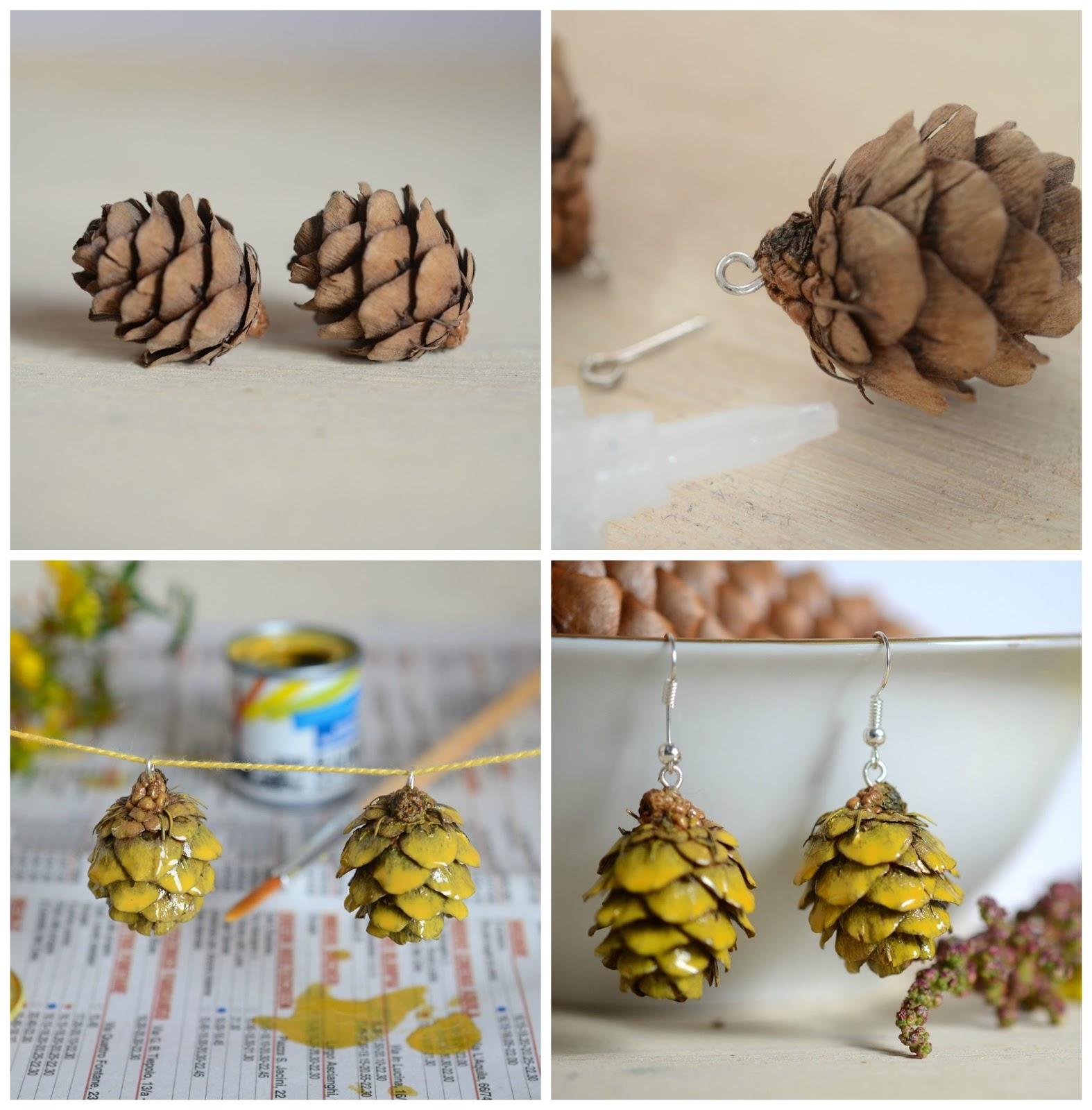 Diy: eco-earrings