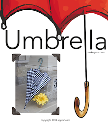 Pattern to make your own umbrella from an old one