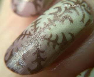 Kandy.colors Vanilla Ice-cream and Berry Chocolate with DRK Designer 3 and Kleancolor Metallic Brown