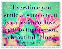 I'm smiling :0)