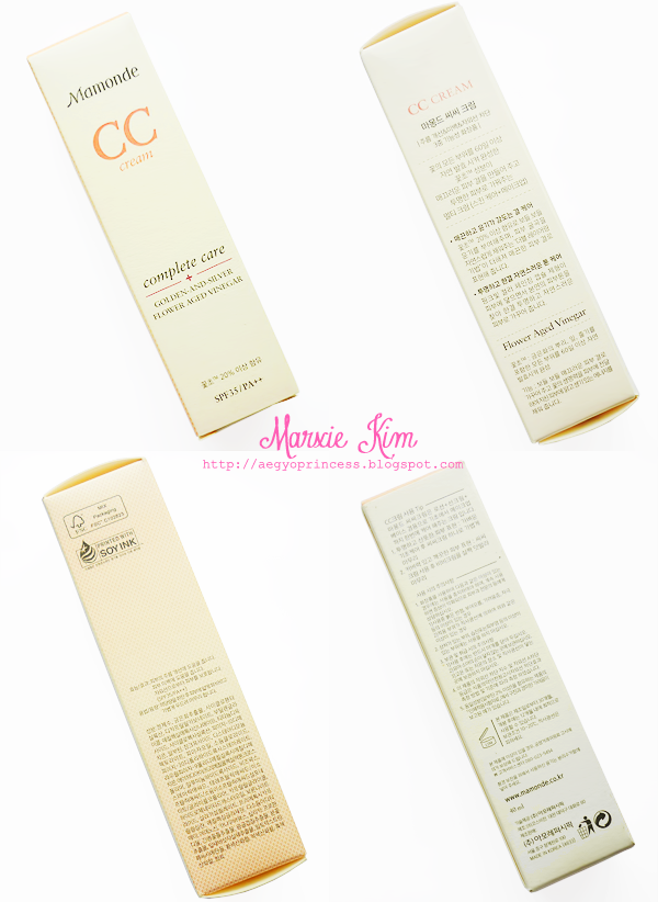 mamonde cc cream