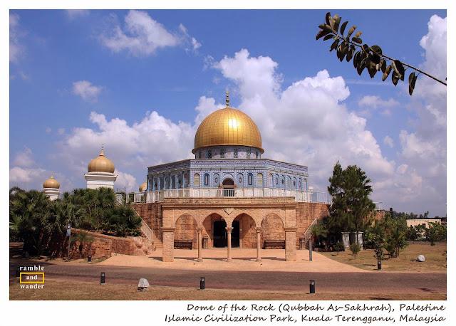 Taman Tamadun Islam, Islamic Civilisation Park, Kuala Terengganu, Malaysia   www.rambleandwander.com