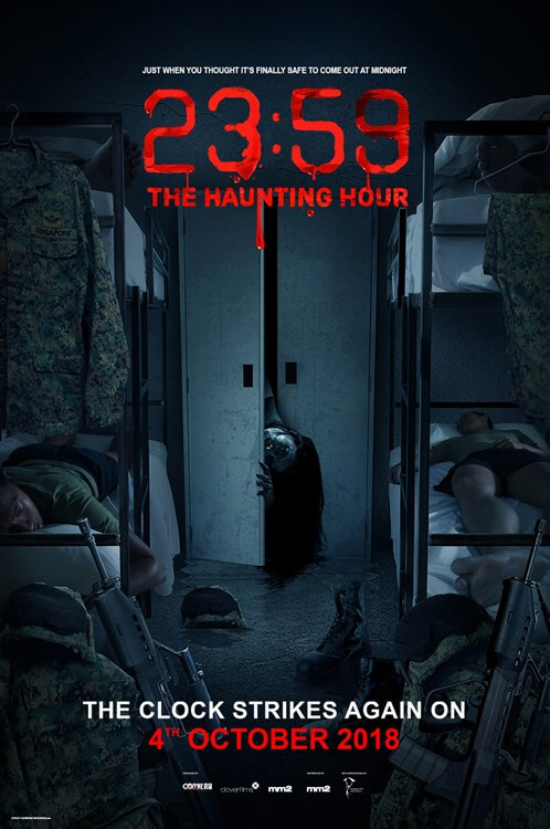 SINGAPORE MOVIE - 4 OKTOBER 2018 - 23:59 THE HAUNTING HOUR  (Mandarin)
