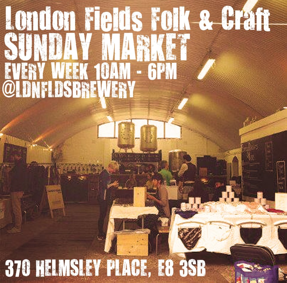 Craft Brewery London London Fields Brewery's Sunday