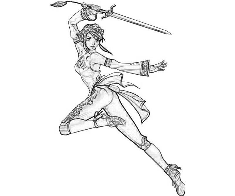 Free samurai sword coloring pages for Katana coloring page