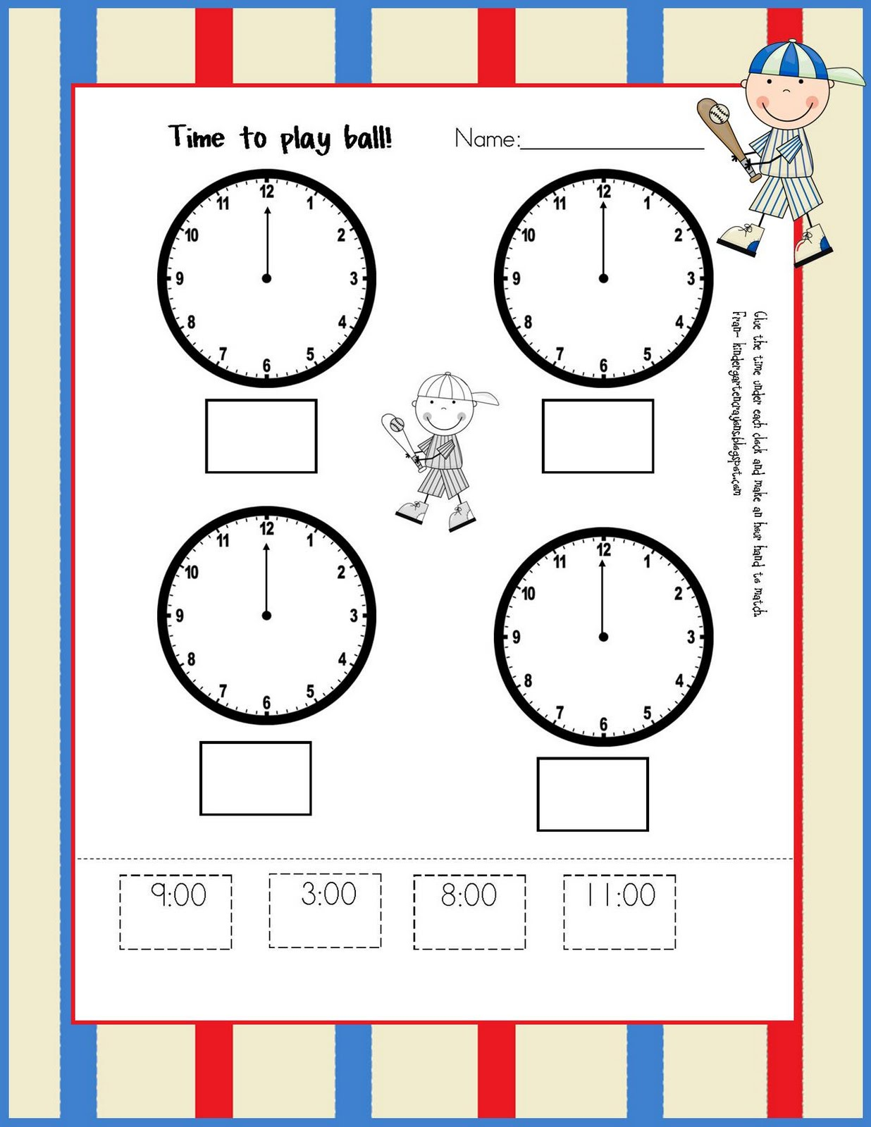 Telling time and calendar worksheets for Grade 2
