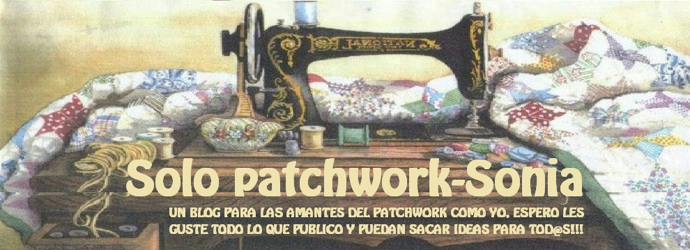 Solo Patchwork- Sonia