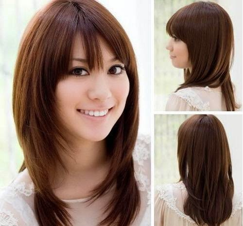 Model Rambut Wanita Sebahu Ala Korea 7
