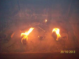 Wypalone podpałki