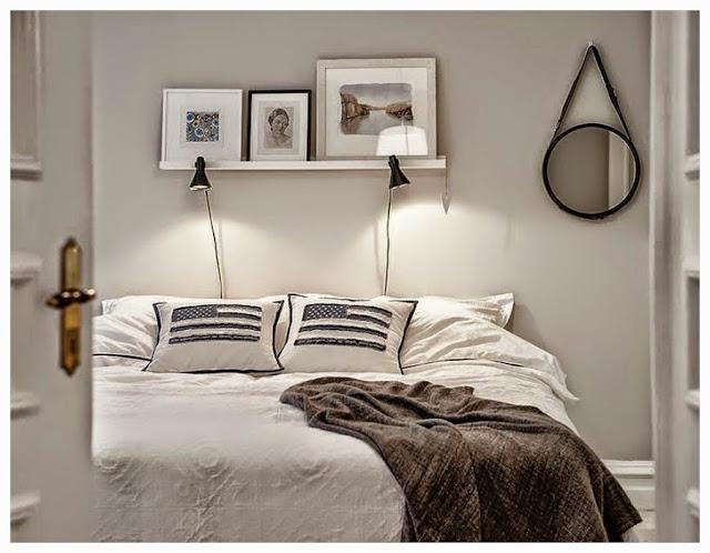 Decoraci n f cil tendencia apliques de pared en dormitorios - Tendencias decoracion paredes ...