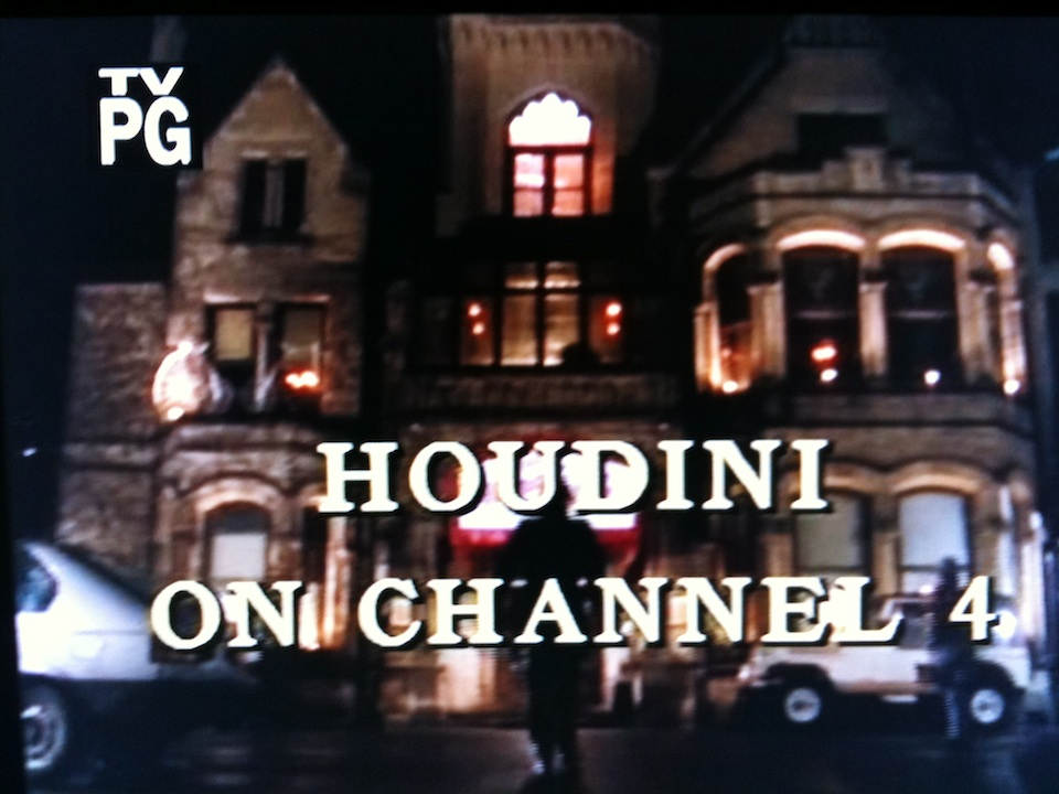 ... an episode of Alfred Hitchcock Presents called, Houdini on Channel 4.