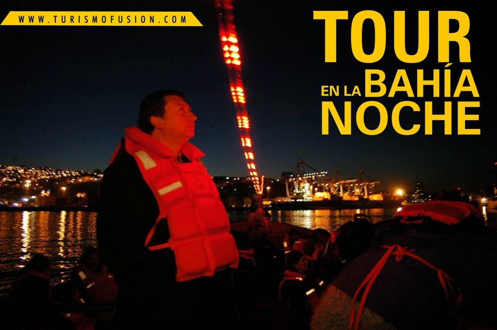 TOUR NOCTURNO BAHIA DE VALPARAISO 2018-2019