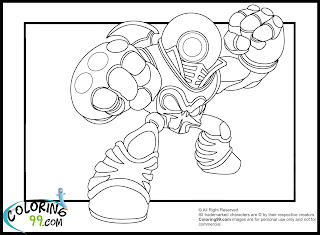 skylanders eye brawl coloring pages