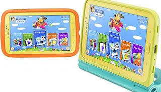 tablet untuk anak dari samsung dengan sistem timer dan kontrol orang tua