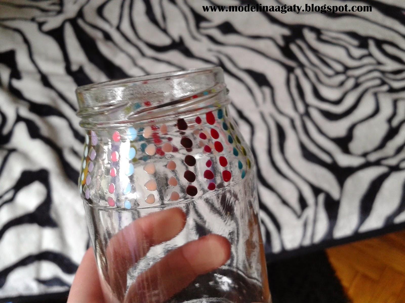 DIY: świecznik ze słoika