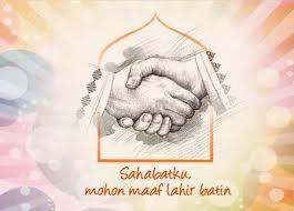 Kata Ucapan Mohon Maaf Lahir Batin 1 Syawal 1434 H