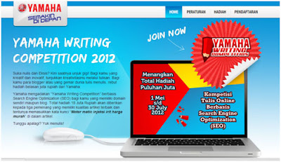 Kontes SEO Yamaha Writing Competition 2012