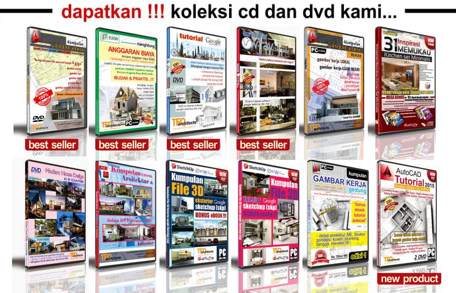DVD Gambar Kerja