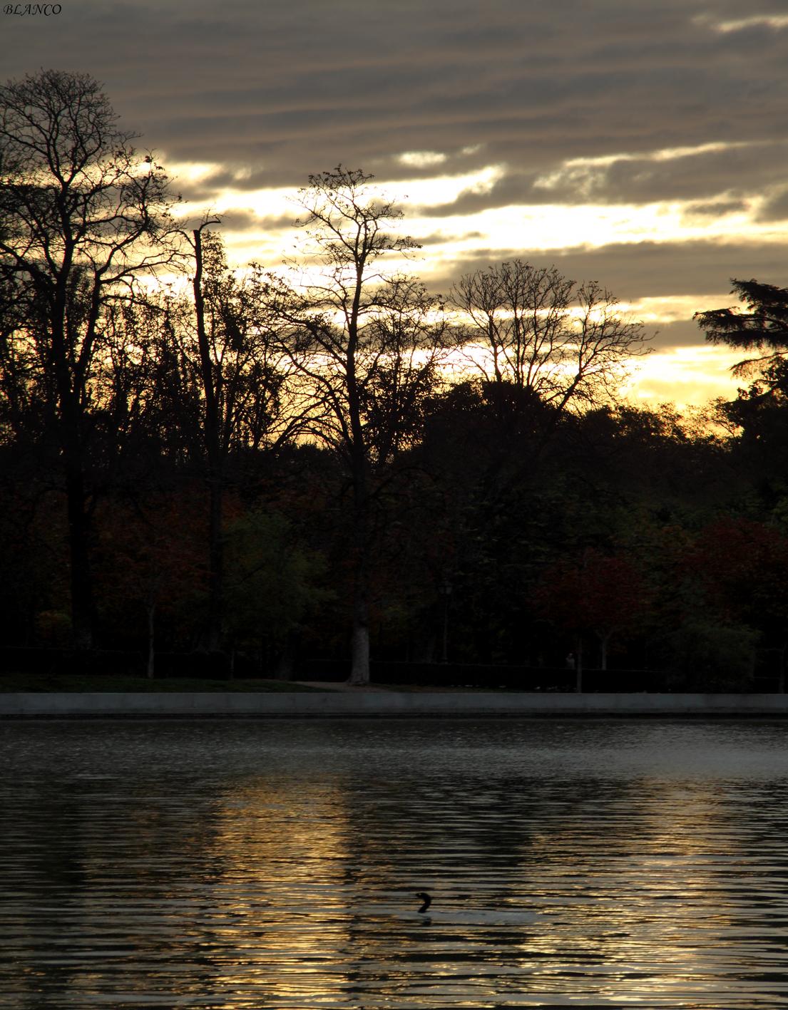 Madrid En Foto Parque Del Retiro Estanque Grande Del Retiro