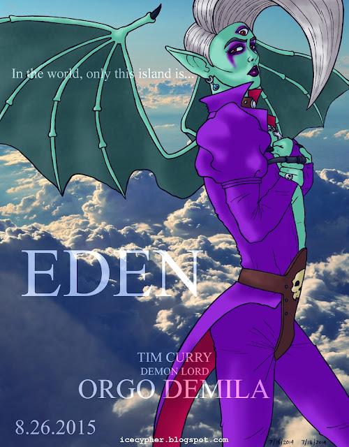 Eden, demon lord Orgo Demila
