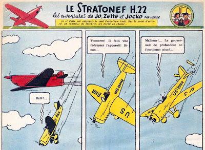 Jo, Suus en Jokko: het vliegtuig de Stratonef