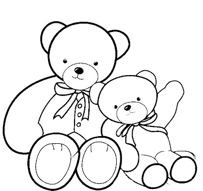 Teddy Bear Coloring Pages Printable