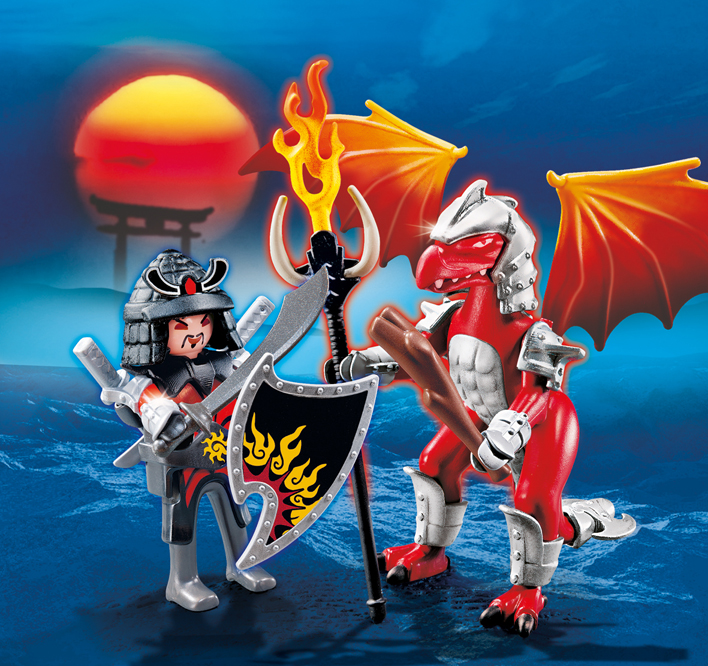 Warriors Fire And Ice Episode 4: Retroplaymoland: New Sets: Playmobil Dragon Bags