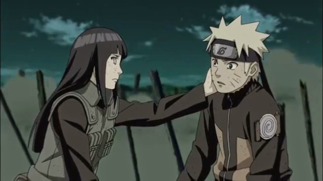 Hinata Slapped on Naruto Face