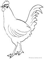 Mewarnai Gambar Ayam Ketawa