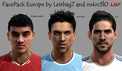 FacePack Europe by Leirbag7 and m4rc3l0