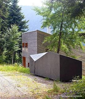 Casa rural contemporánea de madera en Alemania