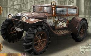 لعبة السيارة الشريرة