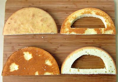 Cake πινιάτα ουράνιο τόξο-tutorial_2