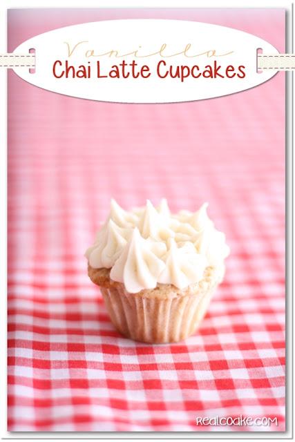 Cupcake Recipe {Vanilla Chai Latte Mini Cupcakes} - The ...