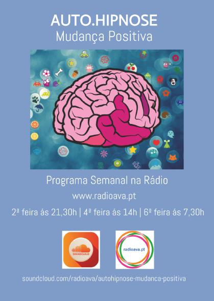 """Programa Semanal na Rádio   """"Auto.Hipnose-Mudança Positiva"""""""