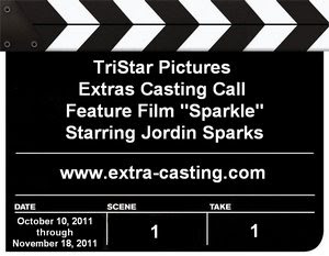Sony Pictures Sparkles Extras Casting Call