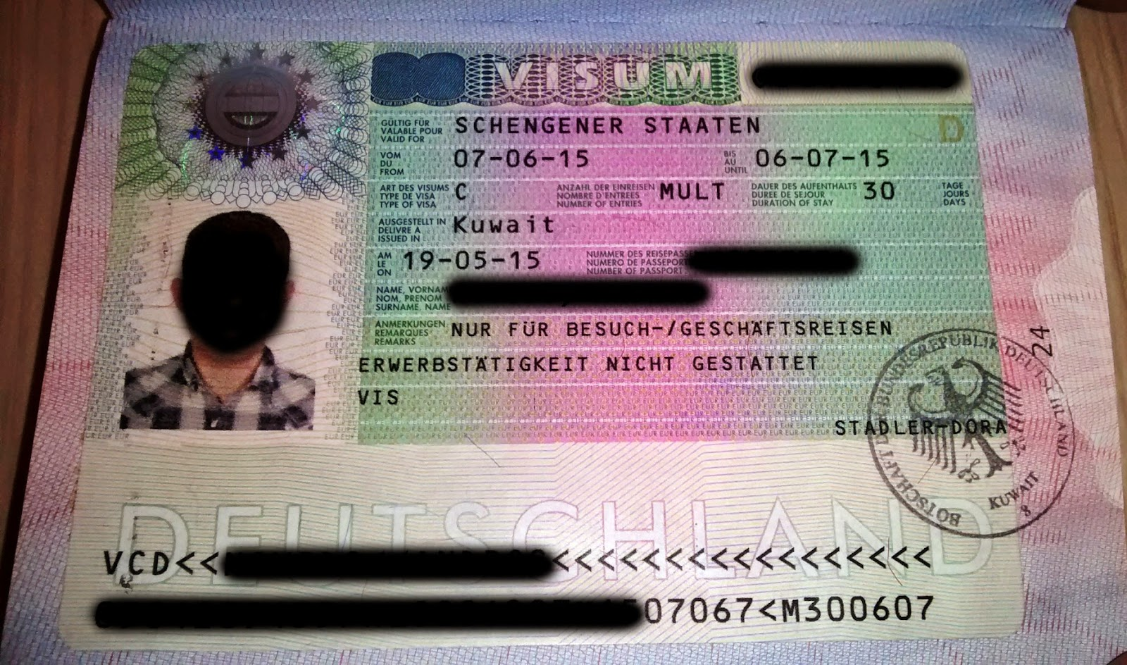 The Viewing Deck How To Apply For Schengen Germany Visa As