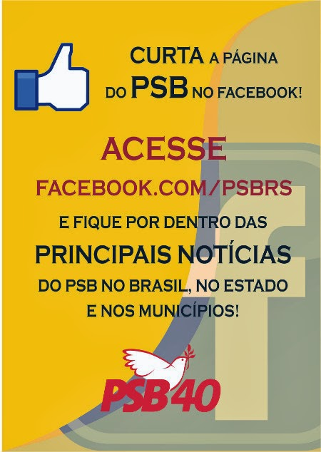 PSB/RS no Face