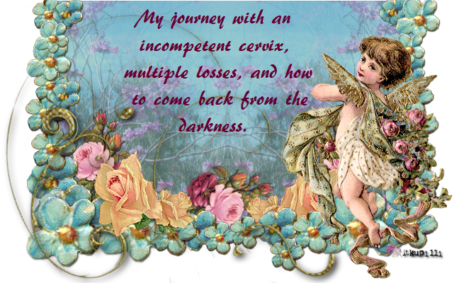My journey with an incompetent cervix, multiple losses, and how to come back from the darkness.