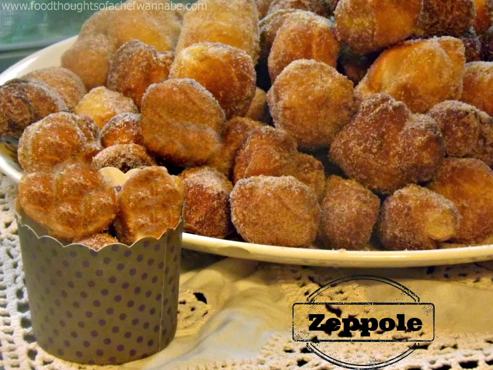 Zeppole Are The Equivalent Of Like An American Donut Hole They Are Fried Balls Of Dough Which In My Life Is Pizza Dough