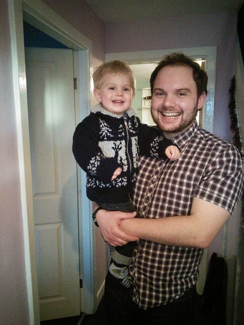 EDITOR'S SON AND GRANDSON