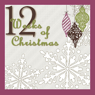 12 Weeks of Christmas Project Series Logo
