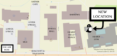 Hearst Gym map
