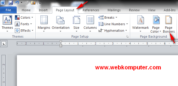 Word Page Border