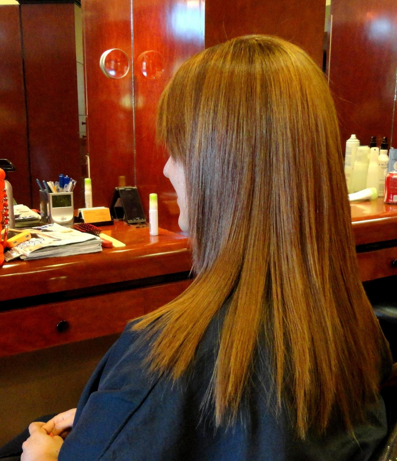 Japanese hair straightening treatment orange county irvine february 2013 - Salon straightening treatments ...
